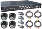 DVR KITS with CCTV Colour Cameras