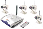 Wireless CCTV Colour Cameras