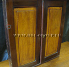 Antique Georgian mahogany physicians medical cabinet