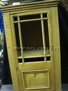 Antique Pine Cabinet with single shelf